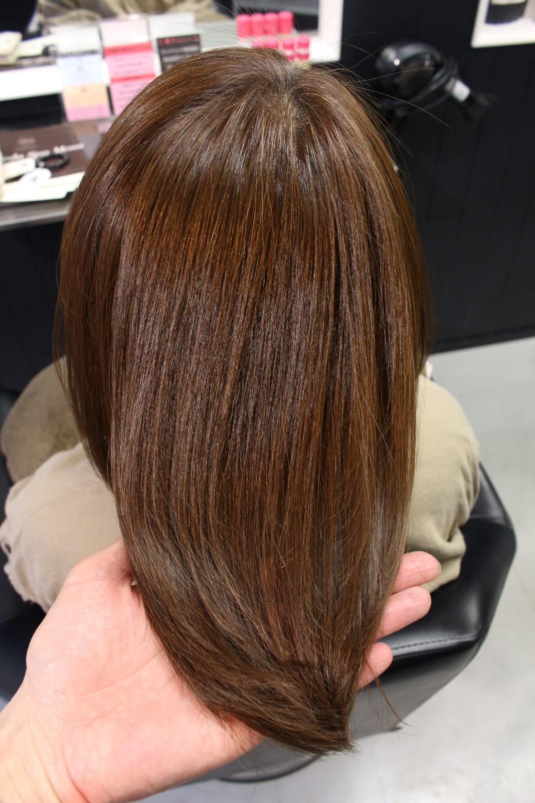 髪質改善3回目G様