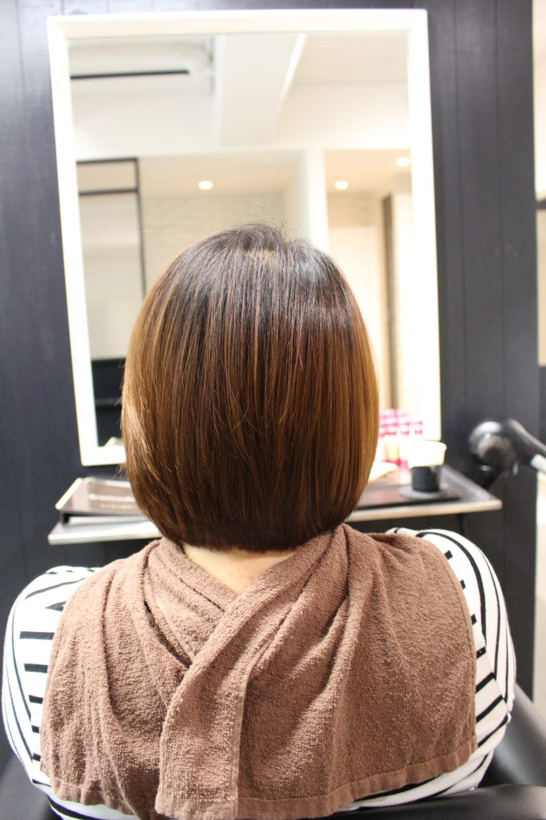 髪質改善3回目S様