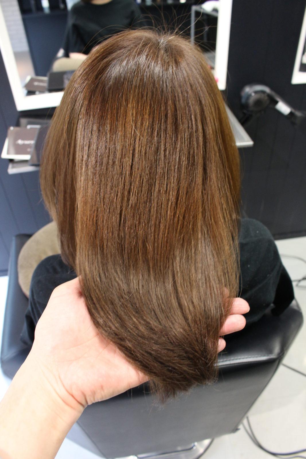 髪質改善5回目G様