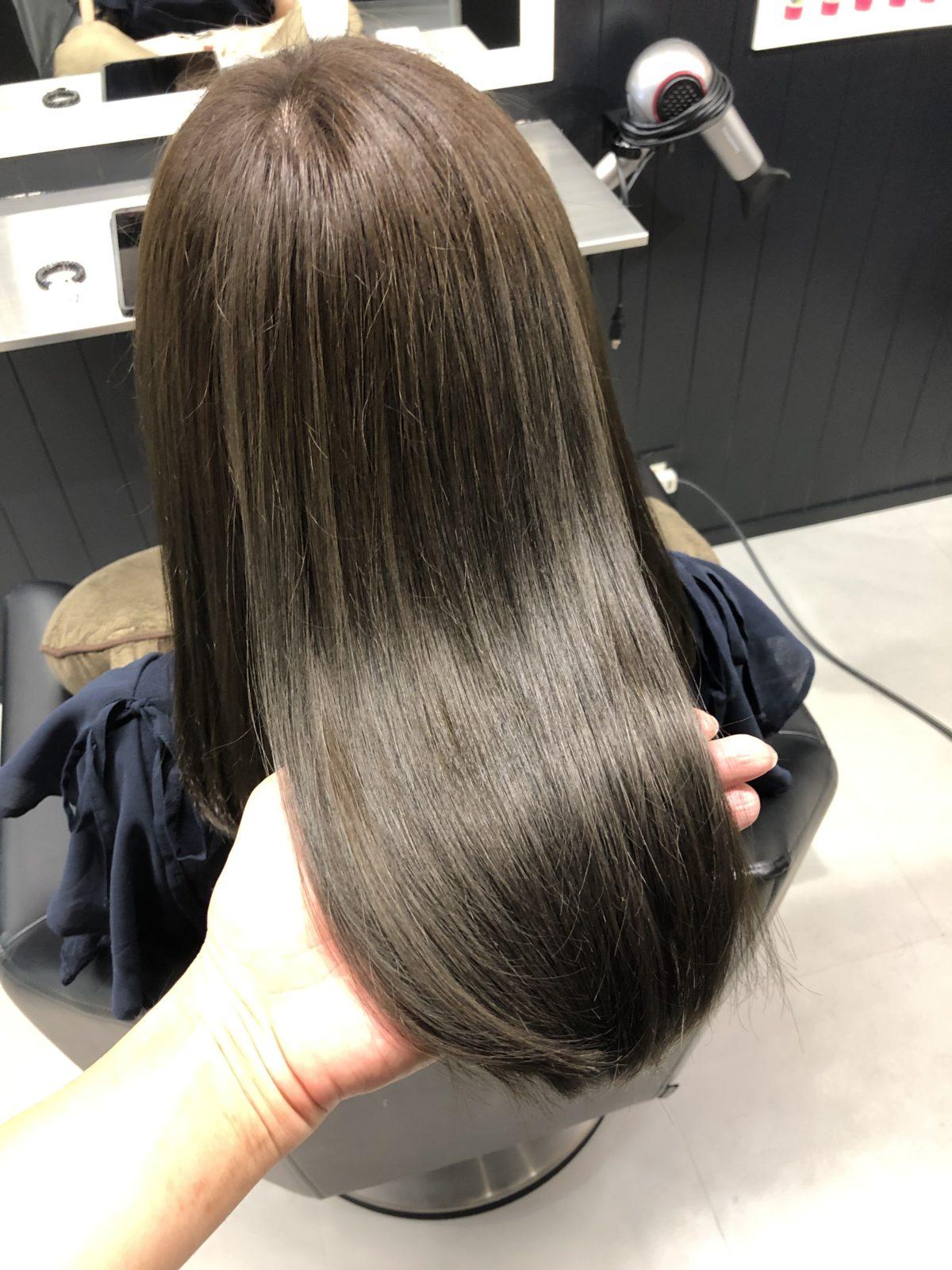 髪質改善スロウカラー