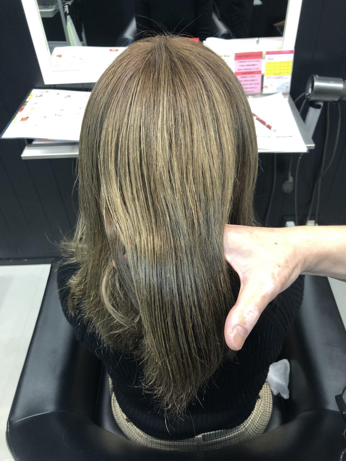 髪質改善トリートメント(酸熱トリートメント)