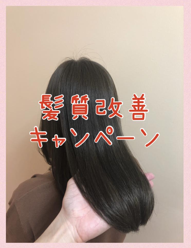 髪質改善キャンペーン